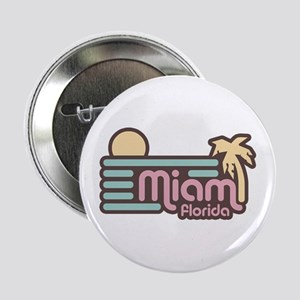 "Miami Florida 2.25"" Button"