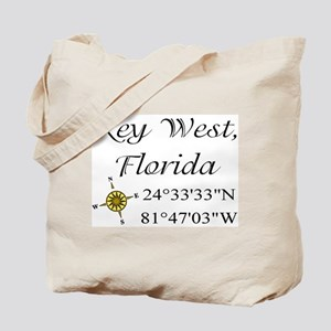 Geocaching Key West, Florida Tote Bag