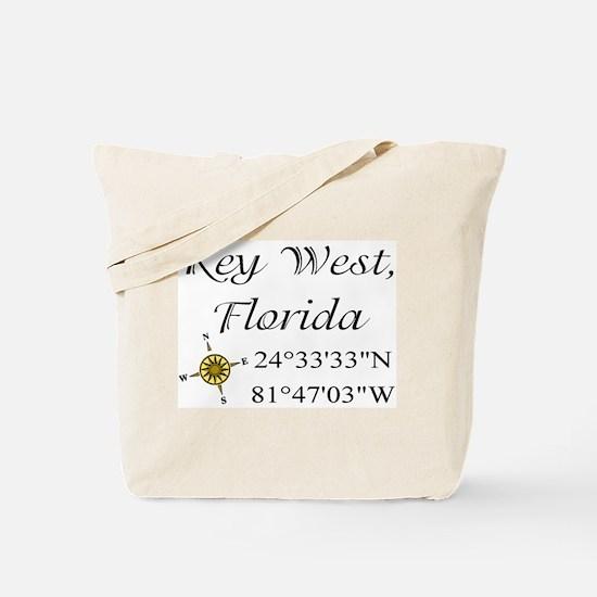 Geocaching Key West, Florida Tote Bag