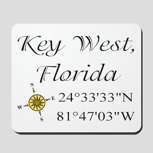 Geocaching Key West, Florida Mousepad