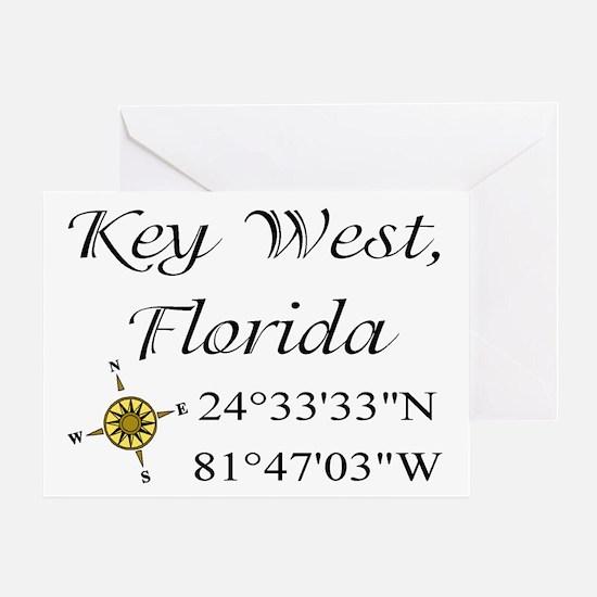 Geocaching Key West, Florida Greeting Card