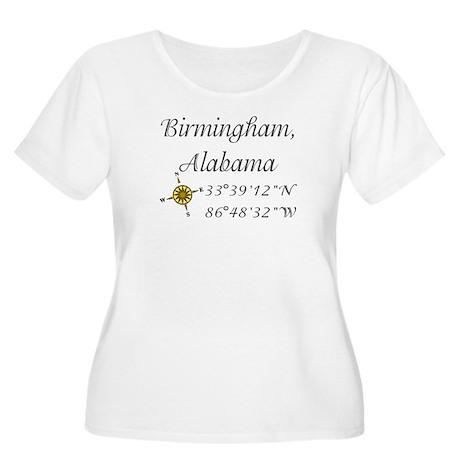 Birmingham, Alabama Women's Plus Size Scoop Neck T