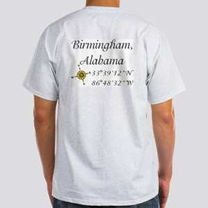 Birmingham, Alabama Light T-Shirt