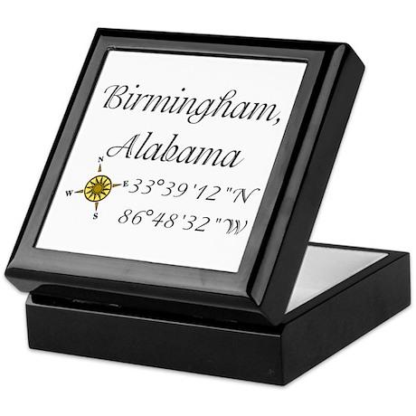 Birmingham, Alabama Keepsake Box