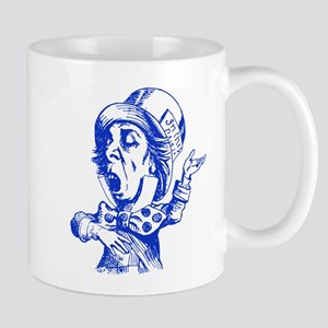 Mad Hatter Blue Mug