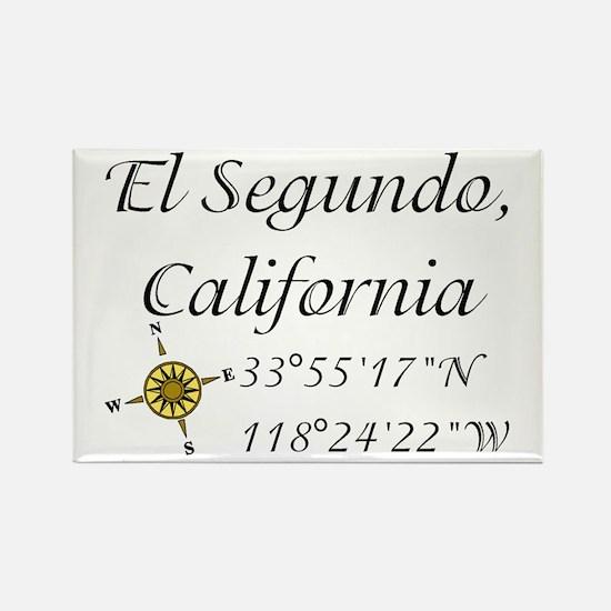 EL SEGUNDO, CALIFORNIA Rectangle Magnet