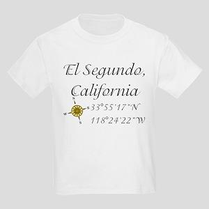 EL SEGUNDO, CALIFORNIA Kids Light T-Shirt