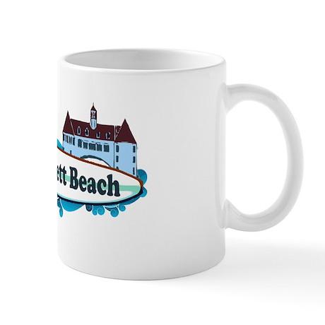 Narragansett RI - Surf Design Mug