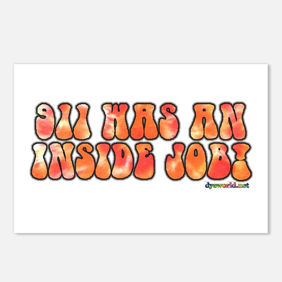 911 WAS AN INSIDE JOB! Postcards (Package of 8)