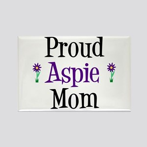 Proud Aspie Mom Rectangle Magnet
