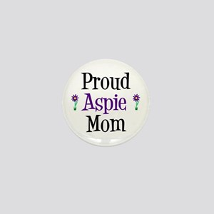Proud Aspie Mom Mini Button
