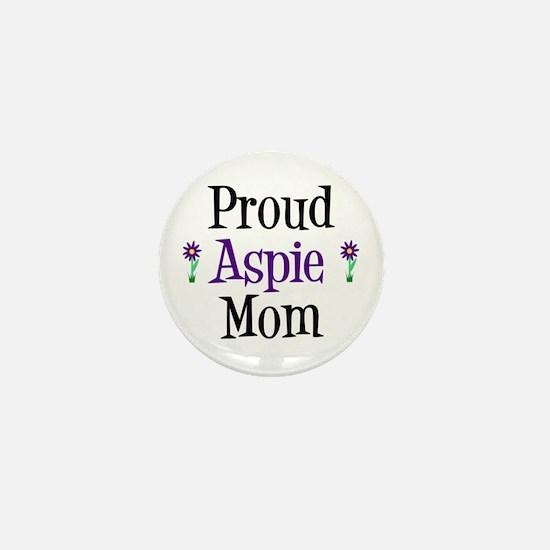 Proud Aspie Mom Mini Button