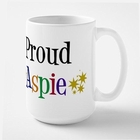 Proud Aspie Large Mug