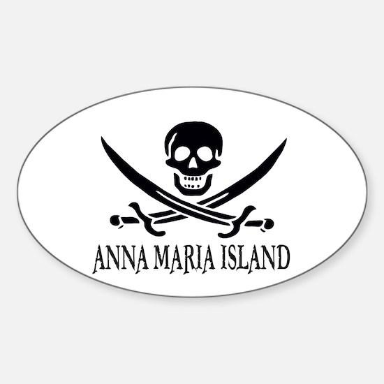 Anna Maria Island, FLA Sticker (Oval)