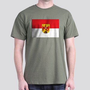 Burgenland Flag Dark T-Shirt