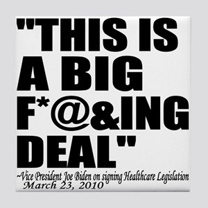 """This is a BIG F*@&ING DEAL"" Joe Biden VP United S"
