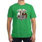 This is a big fucking deal Men's Fitted T-Shirt (d