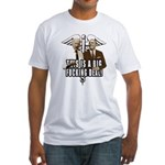 This is a big fucking deal Fitted T-Shirt