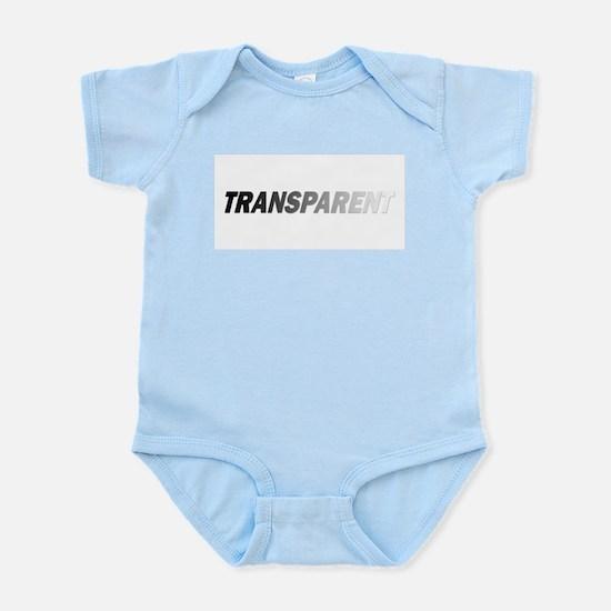 TRANSPARENT Infant Bodysuit