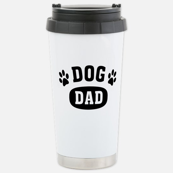 Dog Dad Stainless Steel Travel Mug