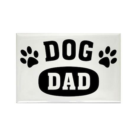 Dog Dad Rectangle Magnet