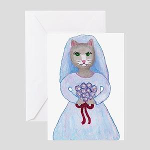 Wedding Cats Greeting Card