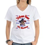 Janna's Custom Homecoming Son Women's V-Neck T-Shi