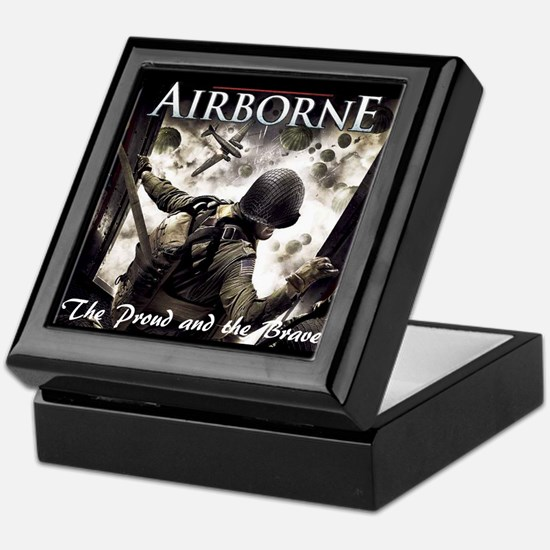 Airborne:The Proud and the Br Keepsake Box