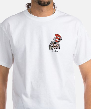 AssHat White T-Shirt
