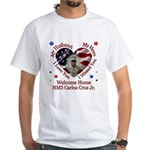 Abigail's Husband Custom Homecoming White T-Shirt