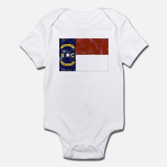 Vintage North Carolina State Infant Bodysuit