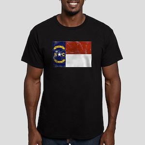 Vintage North Carolina State Men's Fitted T-Shirt