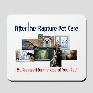 Rapture Care Pet Images Mousepad