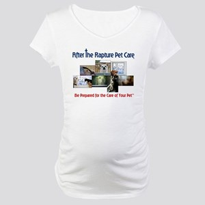 Rapture Care Pet Images Maternity T-Shirt