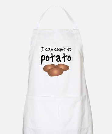 I Can Count to Potato, BBQ Apron