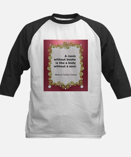 A room without books Kids Baseball Jersey