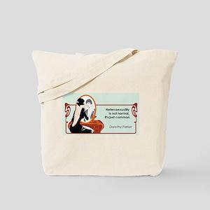 Hererosexuality Tote Bag