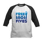 Free High Fives Kids Baseball Jersey