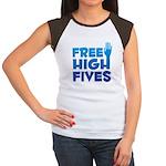 Free High Fives Women's Cap Sleeve T-Shirt