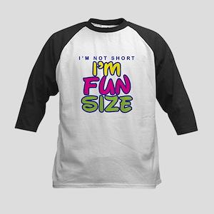 I'm Fun Size Kids Baseball Jersey