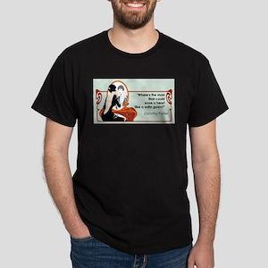 Satin Gown Dark T-Shirt