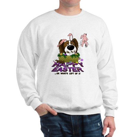 Papillon Happy Easter Sweatshirt