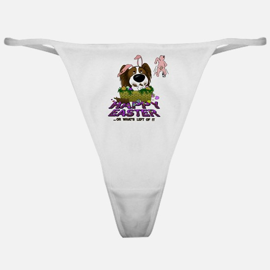 Papillon Happy Easter Classic Thong
