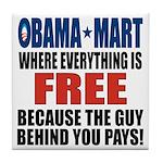 Obama Mart Tile Coaster