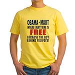 Obama Mart Yellow T-Shirt