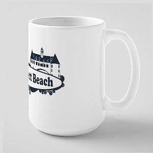 Narragansett RI - Surf Design Large Mug
