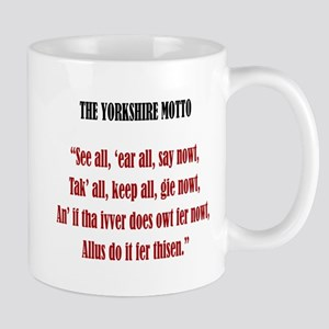 Yorkshire Motto Mug