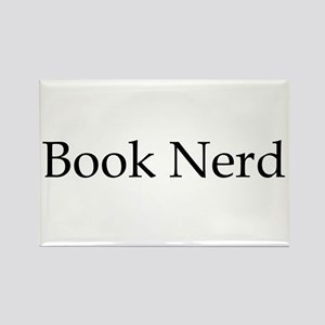 Book Nerd Rectangle Magnet