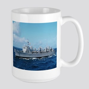 USS Detroit Ship's Image Large Mug