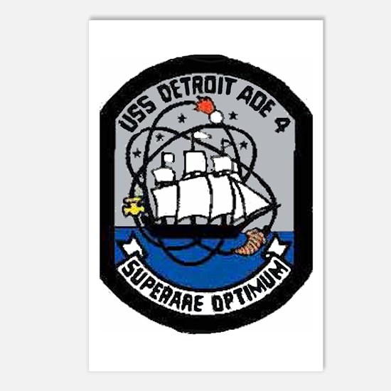 USS Detroit AOE 4 Postcards (Package of 8)
